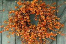 Wreaths and Outdoor Decorations