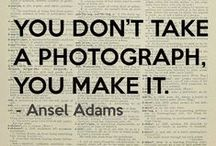 Wise Words: Photography / by Heather Tucker