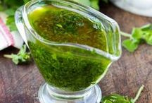 Sauces, Marinades and Spice Blends / Sauce recipes, Marinade recipes and seasoning blends