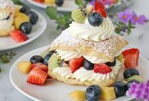 Dessert Recipes / easy dessert recipes of all kinds - cake recipes, pie recipes and tasty frozen treats. I share my own dessert recipes at www.organizedisland.com