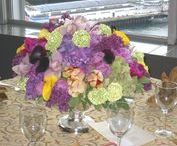 Low Centerpieces / I would rather have flowers on my table than diamonds on my neck.  Emma Goldman