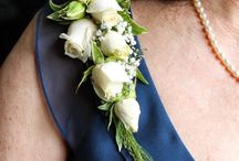 Corsages / We are big fans of pin on corsages for anyone too old for prom. Magnetic attachments make it possible to wear a corsage without poking holes. Also consider flowers to accent a handbag for a fun new look.