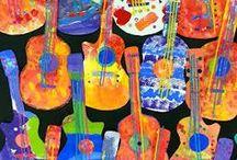 La guitarra, La música / Guitar effects, Guitars, Amplifiers, Microphones, Vintage, Retro, Worn-out, Marhsall, Fender, Skateguitar, Sigarbox guitars, La guitarra, La música, Telecaster, Stratocaster, Jazzmaster, Electro Harmonix, Big Muff