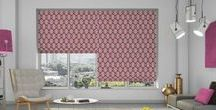 Roman Blinds - Room Ideas / From the people over at the Boston Blind & Shutter Company, here are some fabulous room ideas using Roman Blinds