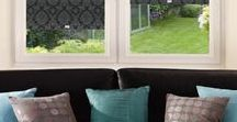 Baroque Perfect Fit & Roller Blinds / Beautifully-patterned Baroque Roller Blinds, available in Standard and Perfect Fit types from Direct Order Blinds.