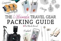 Packing Tips / Tips and packing guides for any trip! From carry-on travel lists and round-the-world packing lists to destination-specific ideas and unique ways to fit everything you need!
