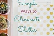 Home Organization / Ideas for home organization. DIY home organization. Declutter your home with these tips and hacks. Home organization on a budget. Printables for home organization. Home organization for you kitchen, bathroom and bedroom. Using baskets for home organization.