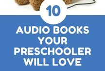 Preschool Books and Activities / Books, audio books and activities for pre k. Lesson plans for preschoolers. Art projects, free printables and busy bags. Ideas for books, crafts and activities for emergent readers. Easy books for kids just learning to read.