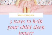 Toddler Sleep Tips / Articles and tips to help your toddler sleep through the night. How to get your toddler to sleep in their own bed. Toddler sleep tips for mom and dad. How to transition your toddler from a crib. Bedtime ideas.