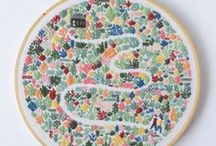 Embroidery, Cross stitch and Needlework / Embroidery for beginners | Embroidery stitches | Cross stitch patterns | Needlework tutorial | Embroidery ideas | Embroidery art | Cross stitch projects | Modern Embroidery and Cross stitch | Embroidery flowers | Geometric Cross stitch | Embroidery designs | Cross stitch PDF