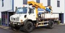 Unimog U4000 with Access Platform - Atkinson Vos / 2006 Unimog U4000 Fitted with a Versalift VST236i insulated access platform with 14.8m working height. In good all round condition and ready to go to work.  This Unimog would make a fantastic expedition camper having the 3850mm wheelbase which makes fitting a 4100mm long body possible and the Central Tyre Inflation System (CTIS) which allows tyres to be inflated & deflated to pre-determined pressures from the comfort of the drivers seat.