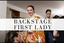 Backstage First Lady