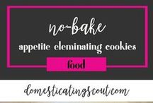 Food  Domesticating Scout / Are you looking for some great dinner or snack recipes? From crockpot recipes to chicken recipes (and even vegetarian options), I'm pinning my favorite easy & healthy recipes.