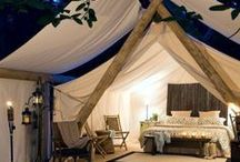 glamping / Dreamy glamping scenes we're inspired by...