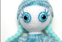 My handmade dolls / Unique handmade crocheted dolls, amigurumi