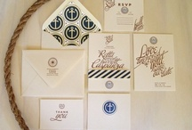 Papier / Invitations, stationary, and other printed items