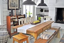 Kitchen and dining / by Jenny-Anne Hugosson
