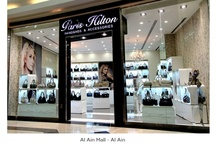 Team & Stores- Paris Hilton Handbags / Free standing stores  and part of the team working at  Paris Hilton Handbags & Accessories worldwide / by Paris Hilton Handbags & Accessories