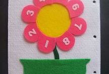 Numbers Activities / You'll see some fun numbers activities and other interesting crafts relating to numbers.