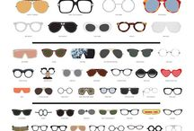 Eyewear / Sunglasses add such a look to the face - I love a great big pair.