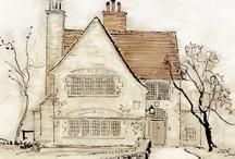 Illustraties huisjes en zo