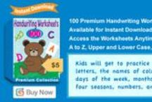Premium Kindergarten Worksheets Packages / Offering a variety of worksheet packages that you can download and print. These worksheets allow children to review and reinforce what they have learned.