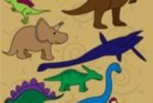 Dinosaurs / Fun dinosaur themed activities and worksheets for preschoolers and kindergarteners to enjoy. These are especially great for dinosaur lovers.