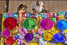 Inspiration. / Moods, colours, textures.