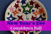 Kindergarten New Year Activities and Worksheets / A collection of great resources to celebrate the new year with kids.