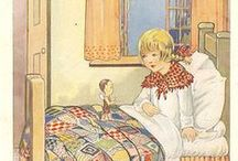 Vintage Children's Illustrations by Various Artists