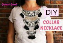 DIY ACCESORIES   ACCESORIOS / Como hacer collares, pendientes, bolsos y sombreros para diversas ocasiones. Fáciles, rápidos y baratos.