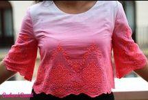 DIY BLUSAS - DIY T-SHIRTS / Customizar camisetas. DIY T-shirts. Customized T-shirts.