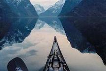 Steder å reise i Norge