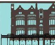 Original paper cuts / Original paper cutting artworks by Yorkshire artist Anita Bowerman.