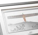 Stainless-steel artworks / Stainless-steel artworks based on original paper cuts by Anita Bowerman.