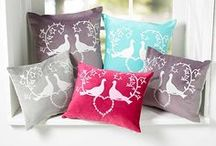 Designer cushions / Launched in 2018, Anita Bowerman has created a range of luxury designer cushions featuring her original paper cut designs. These cushions have featured in the World of Interiors.