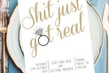 Beauty in the detail / Wedding day planning inspo