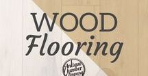 Wood Flooring / Find beautiful reclaimed wood for your flooring project at Antique Lumber Company in Gainesville, TX!