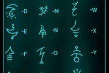 Letters / Písmena