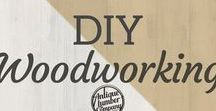 DIY Woodworking / These DIY projects are a woodworker's dream! Visit us to find the wood, doors, windows, and more for your next project!   Antique Lumber Company   www.antiquelumber.com