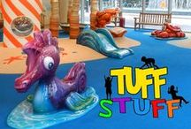 Tuff Stuff - Soft Sculpted Foam Toddler Playtime for Children #WeBuildFUN / Tuff Stuff is individual play elements which are themed and durable. Soft sculpted foam. One of a kind. Custom for your budget and size of play area. Stimulates imagination, creativity, interactive, easy to clean and easier to supervise. Perfect for shopping centers, airports, museums, fitness centers, restaurants... anywhere that toddlers play. #commercial #play #structures Children Play Elements  - at #Iplayco #WeBuildFUN