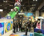 Trade Shows we Attend - Amusement Industry / At International Play Company (Iplayco) we design, manufacture, ship and install Indoor Playground Equipment, Outdoor Playgrounds and Interactive Play Solutions worldwide. Don't Know Where to Start?  See us at the trade shows, ie:  IAAPA, IHRSA, LIW, EAS, NRA, church, recreation, amusement, airport, bowling, the list goes on. Check our website for a complete list of shows we attend in the amusement industry. Drop by and chat with our experienced staff.
