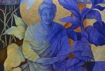 shrines, saints, icons, buddha
