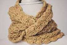 Crochet scarves, wraps & mitts - Adult / Because collecting the patterns is just as fun as using the patterns.