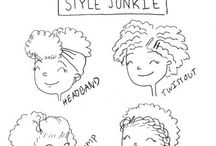 Cute hair, nails etc. / by Angelique Mercier