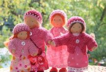 Dolls / Beautiful Waldorf-Inspired Dolls and Accessories.... / by Kristin W