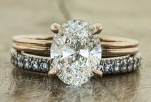 Rings / truer words. diamonds are a girls best friend. / by Nearly Newlywed