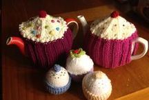 any one for tea? / tea cosies and tea pots
