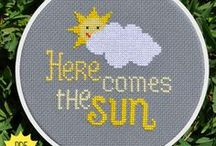 Cross stitch / by Becky Cade