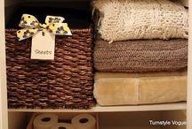 Clever Organization. / Storage ideas. / by Jennifer Lemonds